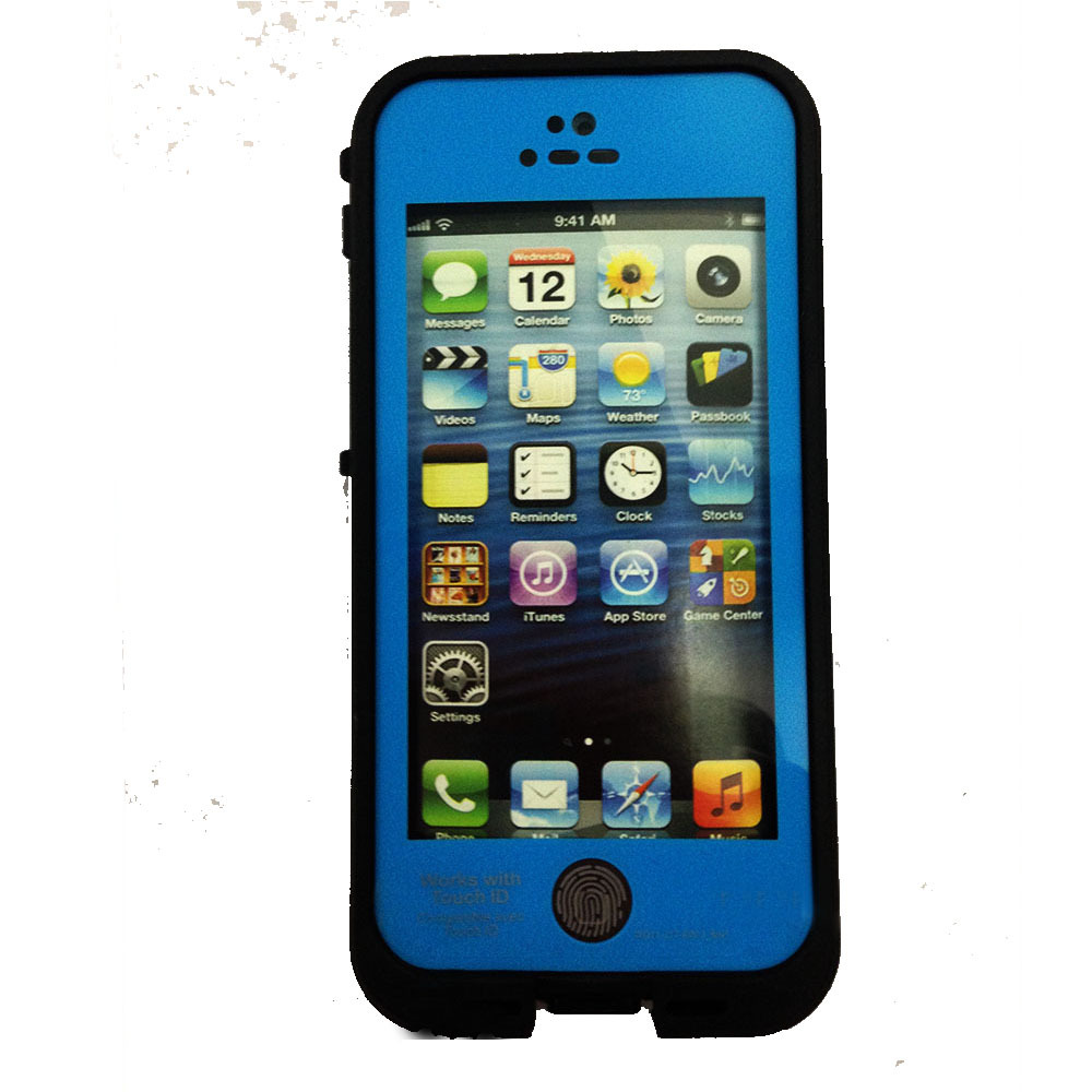 does iphone 5s have fingerprint waterproof shockproof fingerprint touch id cover 1306