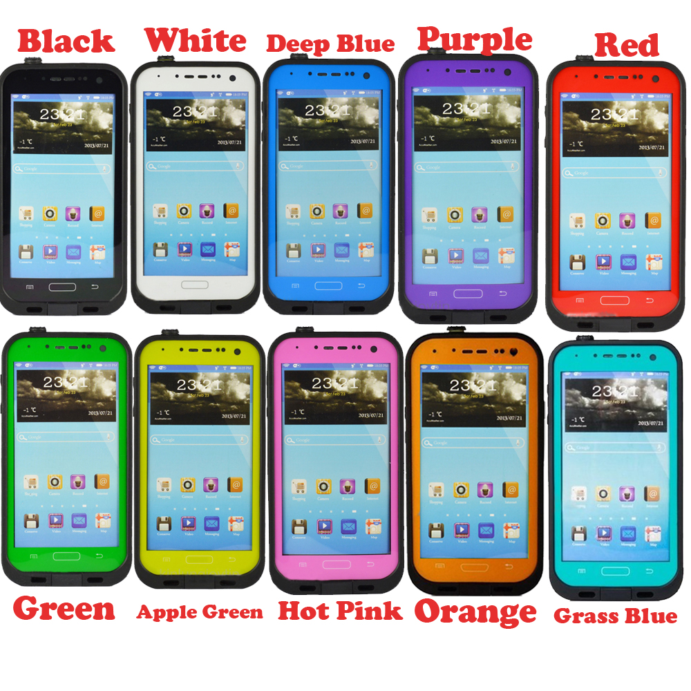shockproof waterproof proof case cover for samsung galaxy s4 s5 s6