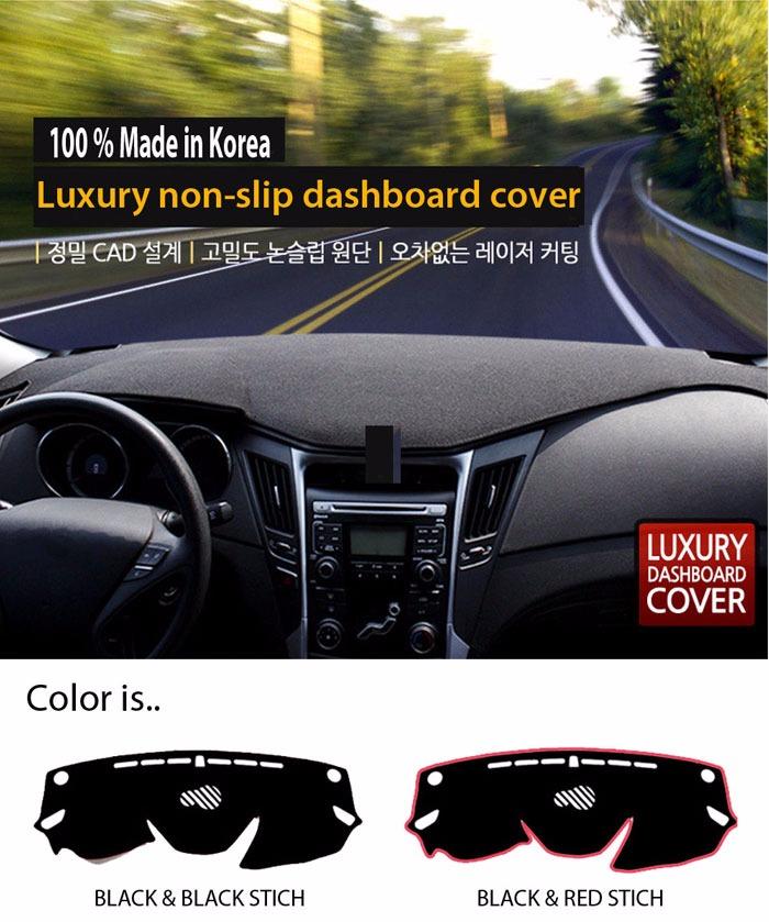 Car Dash Cover Mat Sun Cover Carpet for Hyundai Elantra Avante MD 2011 H31