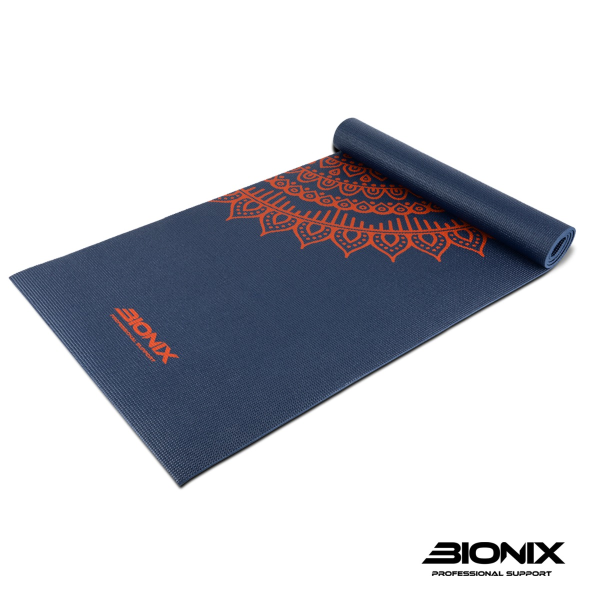 30f23d104158 Printed Yoga Mat and Carry Bag Extra Thick 6mm Large Non Slip Design  Pilates Gym