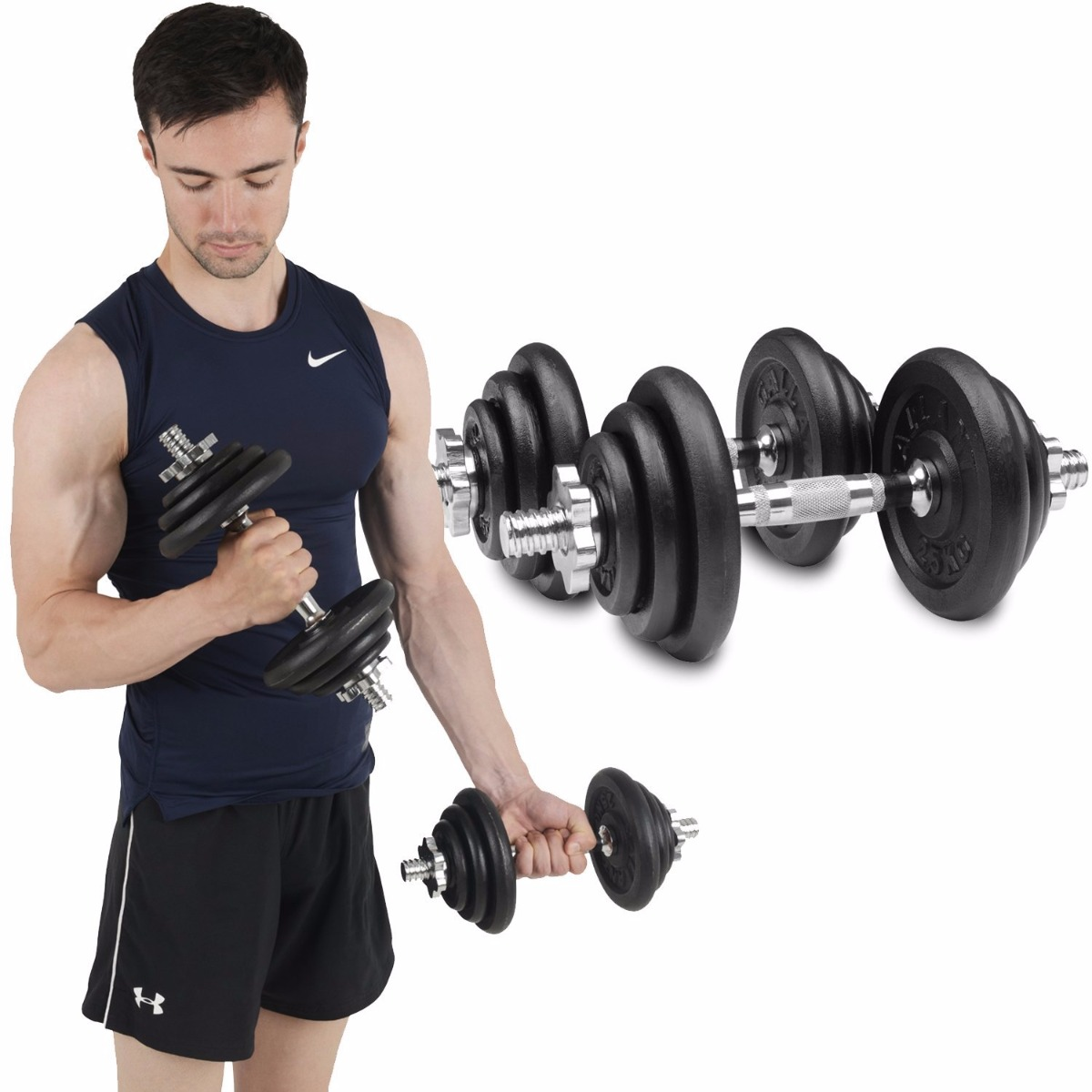 Free Weights Vs Machines: Barbell And Dumbbell Workout At Home