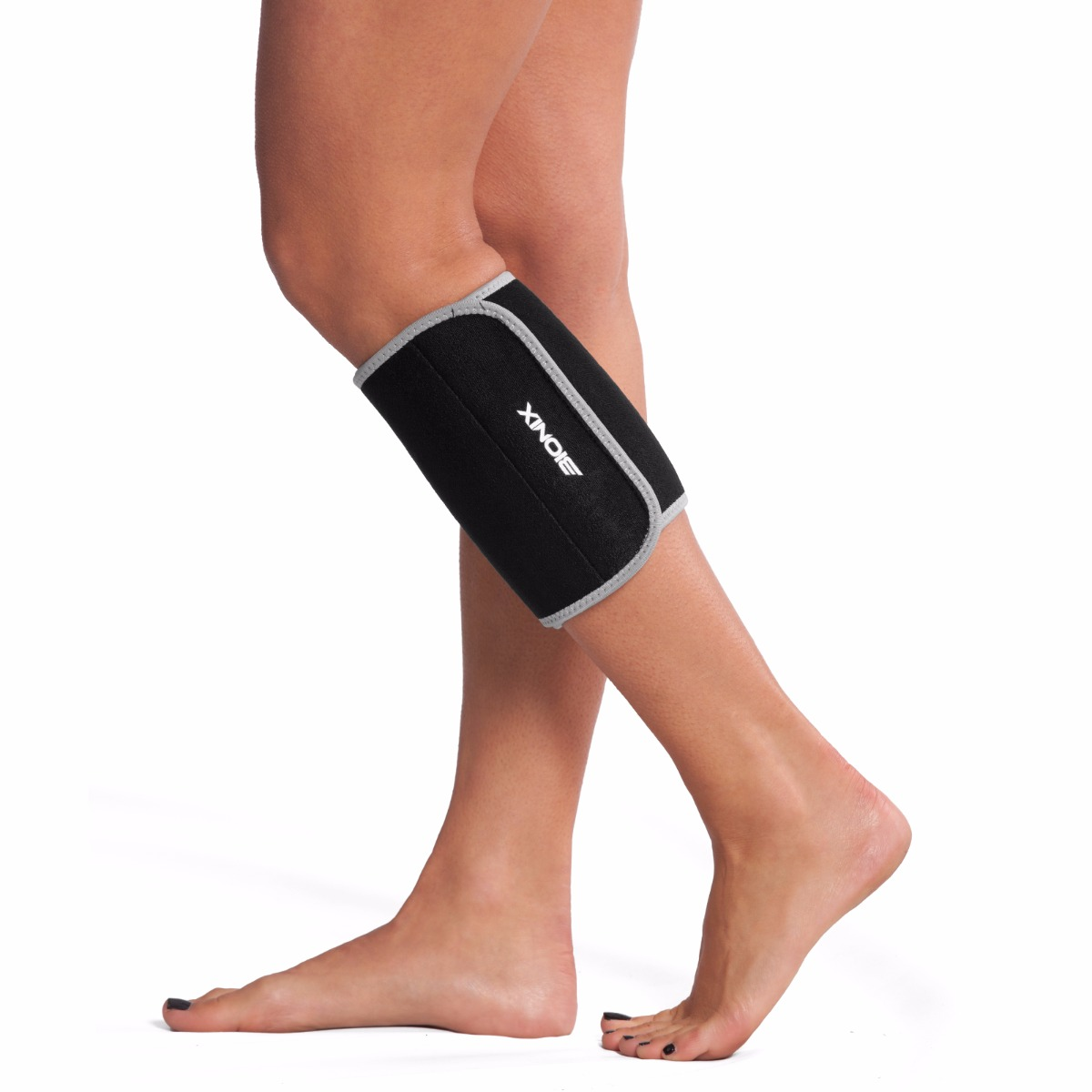 7f9eb501ca Details about Running Calf Support Adjustable Neoprene Shin Splint Compression  Sleeves PAIR