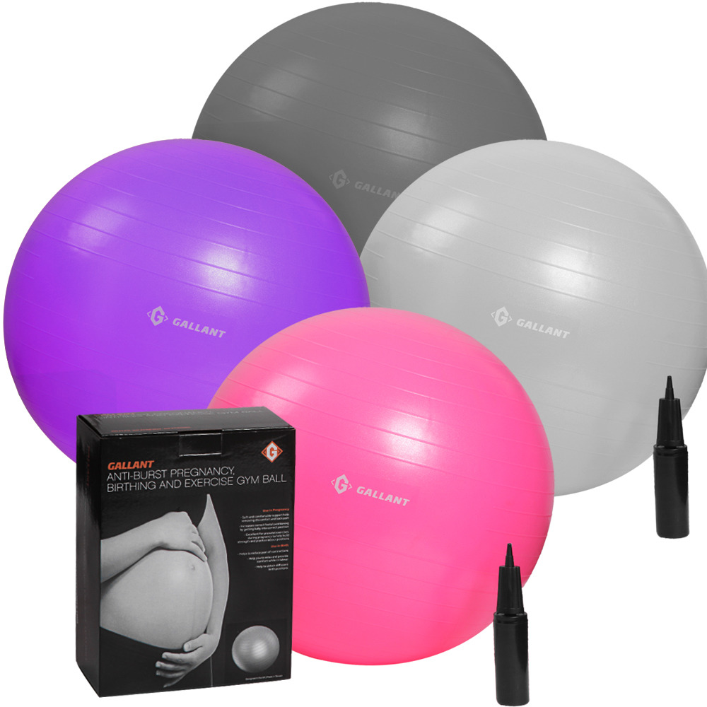 Stability Ball For Labor: Gallant Pregnancy Gym Ball Maternity Birthing Balls Anti