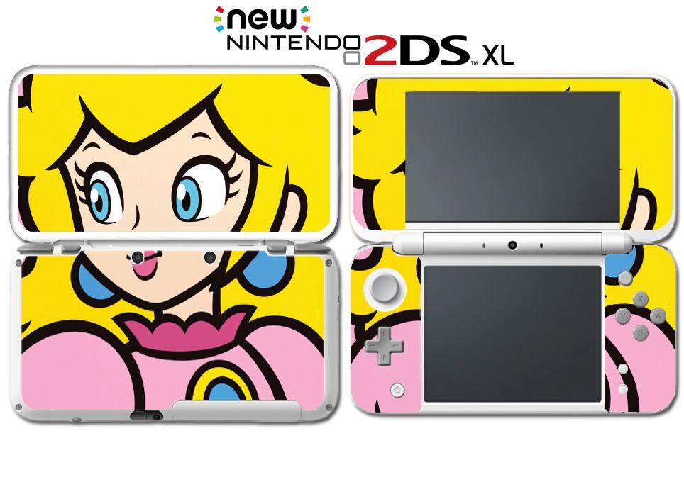 Nuevo Super Mario Bros Princesa Peach Especial Juego Pegatina Piel