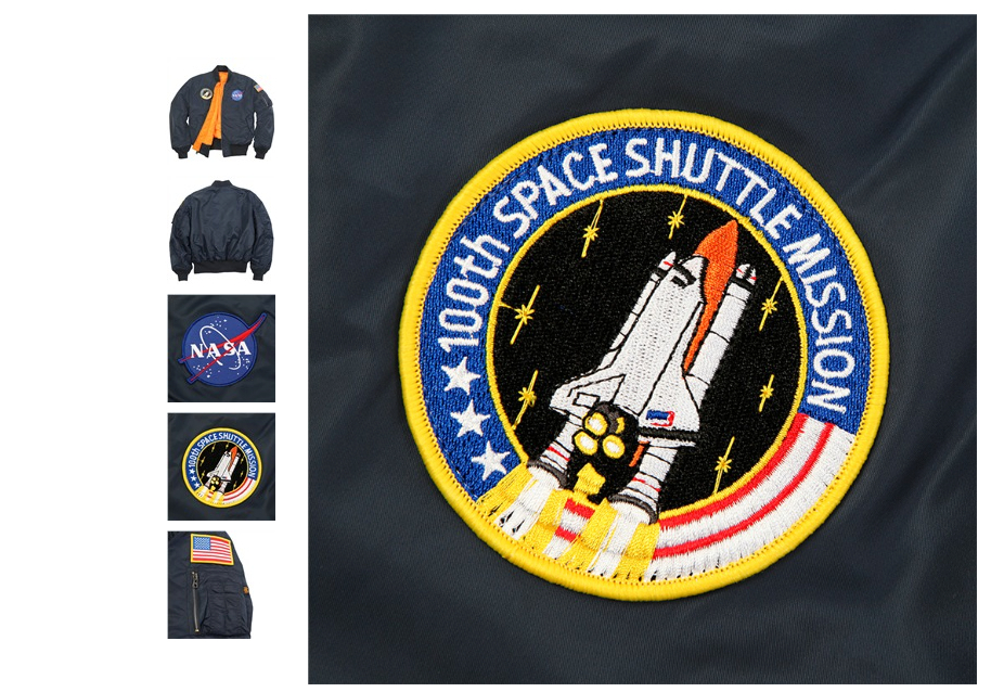 nasa 100th space shuttle mission jacket - photo #3