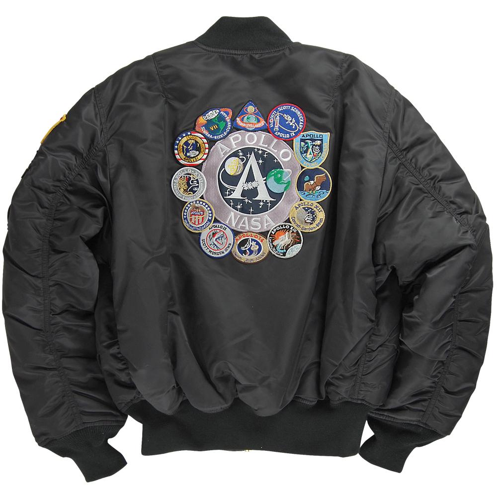 nasa apollo flight jacket - photo #7