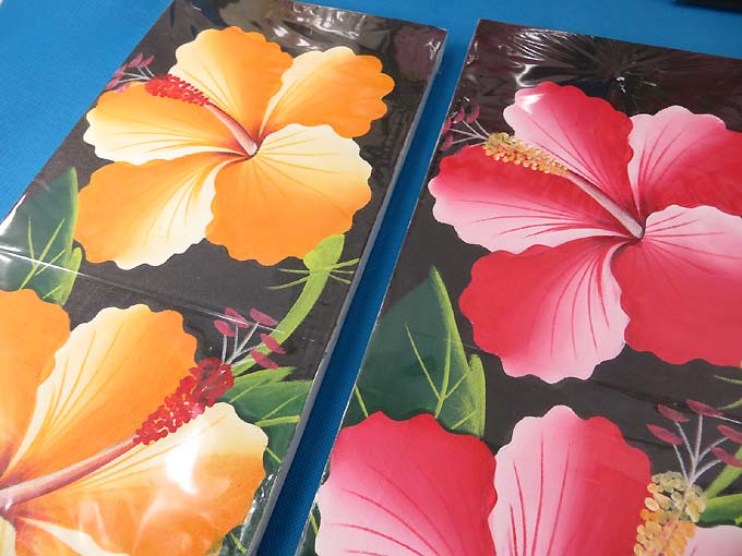 6 Pcs Wholesale Balinese Art Hibiscus Flower Oil Painting