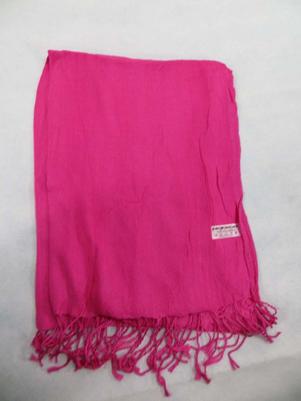 304e5a228a6 Details about pink Solid color pashmina scarves plain basic neckwarmer shawl  wrap stole
