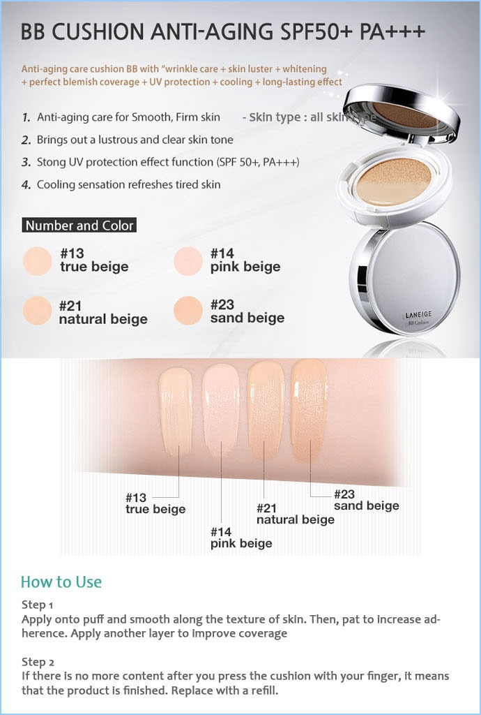 Buy Laneige Big Sale Bb Cushion Deals For Only Rp169 000 Instead Of Rp341 000