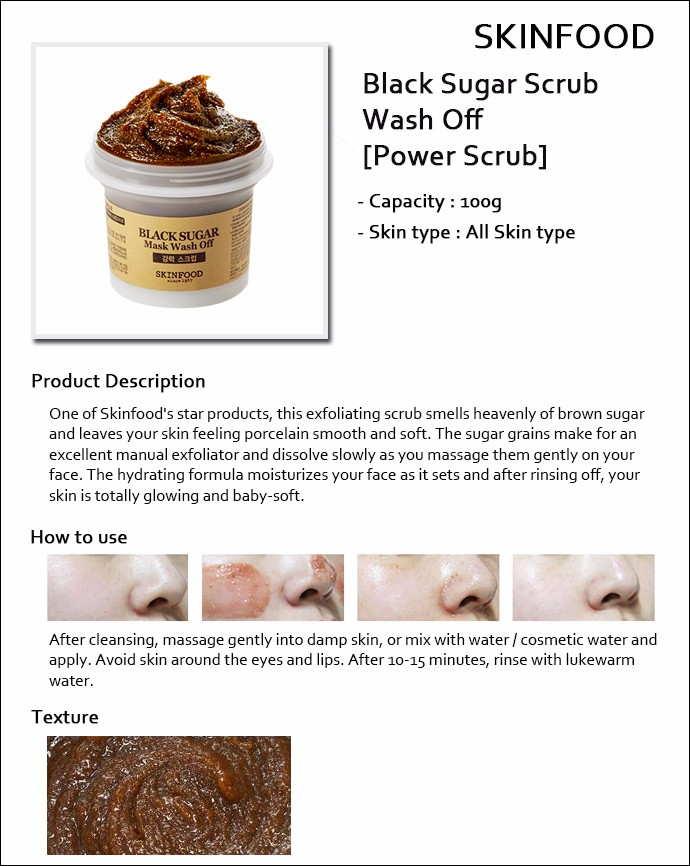 Skin Food] SkinFood ☆ Sale 40 ☆ (bb) Black Sugar Mas...</div>               </div> </div> </li>                                                                       <li class=