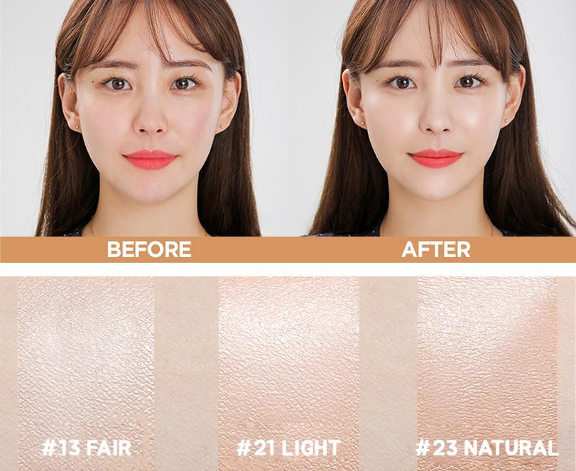 VELY VELY] Aura Honey Glow Cushion 15g(+Refill 15g) / Korea Cosmetic /  (1WS2) | eBay