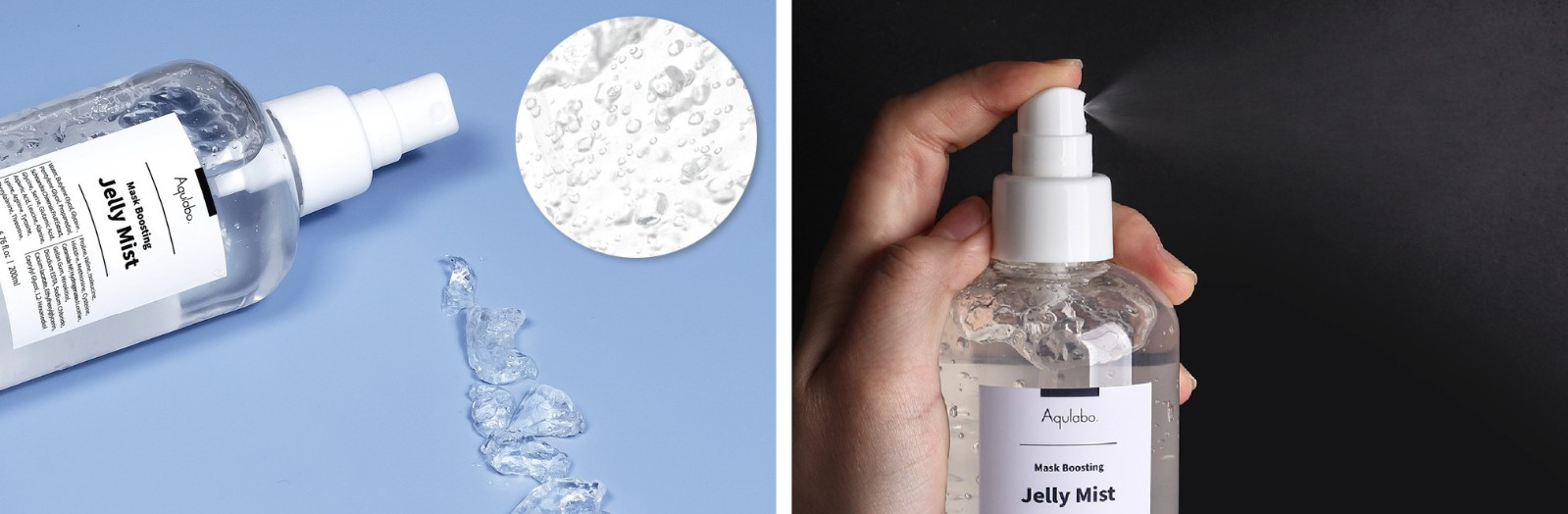 Mask Boosting Jelly Mist Detail