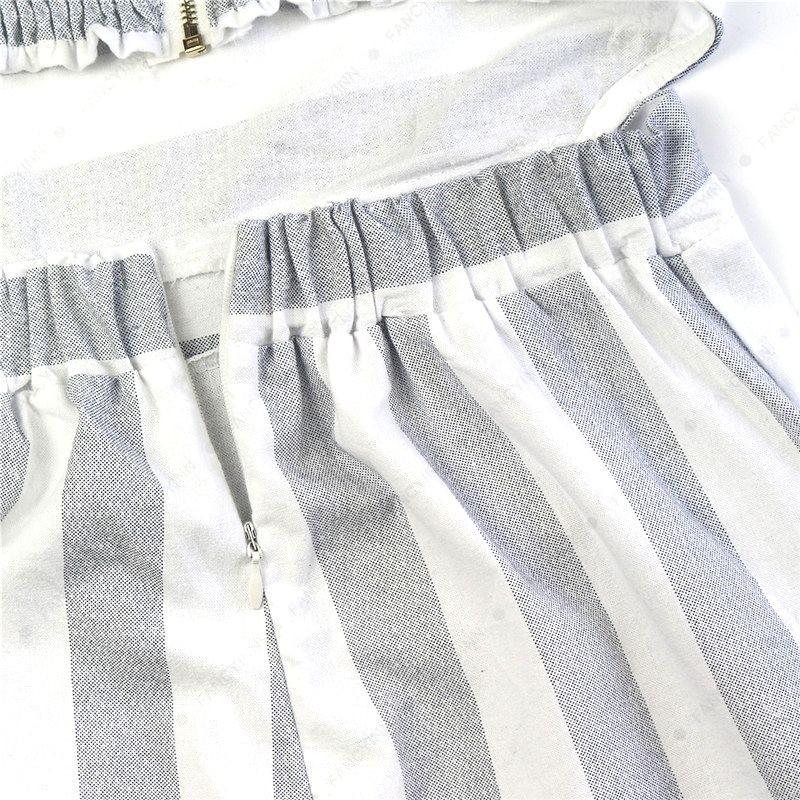3417e1e05a0c Ladies Women Summer Striped Jumpsuit Sleeveless Clubwear Wide Leg ...