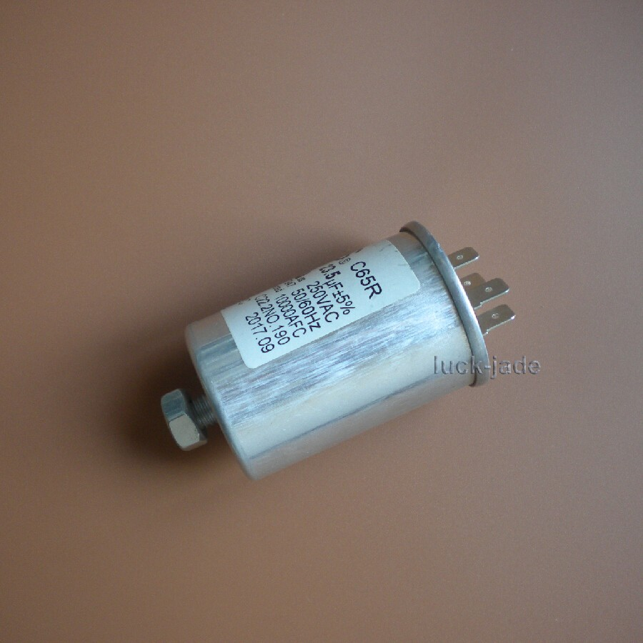 Details about C65R Run Capacitor 250VAC 250V AC 23 5uF 23 5 uF 23 5MFD  1000AFC W/Fixing stud