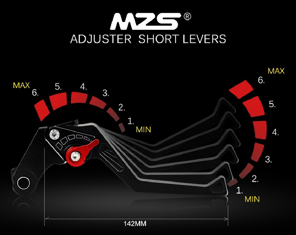 Mzs Brake Clutch Levers For Ducati 749 848 999 1098 1198 Monster 2008 Wiring Diagram Streetfighter 2012 2015 M1100 S Evo 2009 2013 S4rs 2006 1200 R 2014 2016