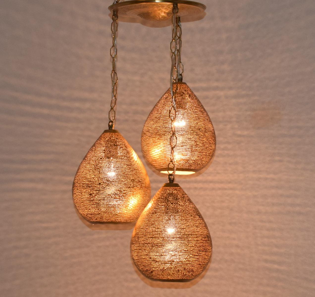 Moroccan 3 In 1 Hanging Pendant Lamps Lighting Ceiling Light Chandelier Ebay