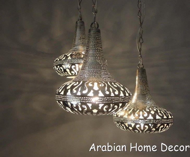 Moroccan 3 In 1 Pendant Chandelier Lamp Ceiling Light