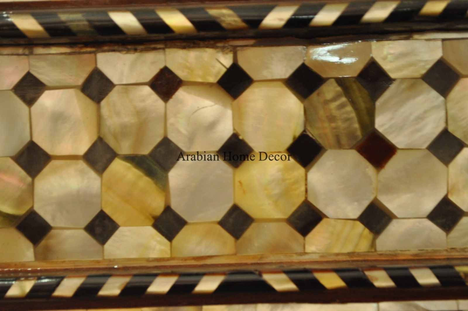 Moroccan Middle Eastern Egyptian Mother of Pearl Inlay Wood Wall ...