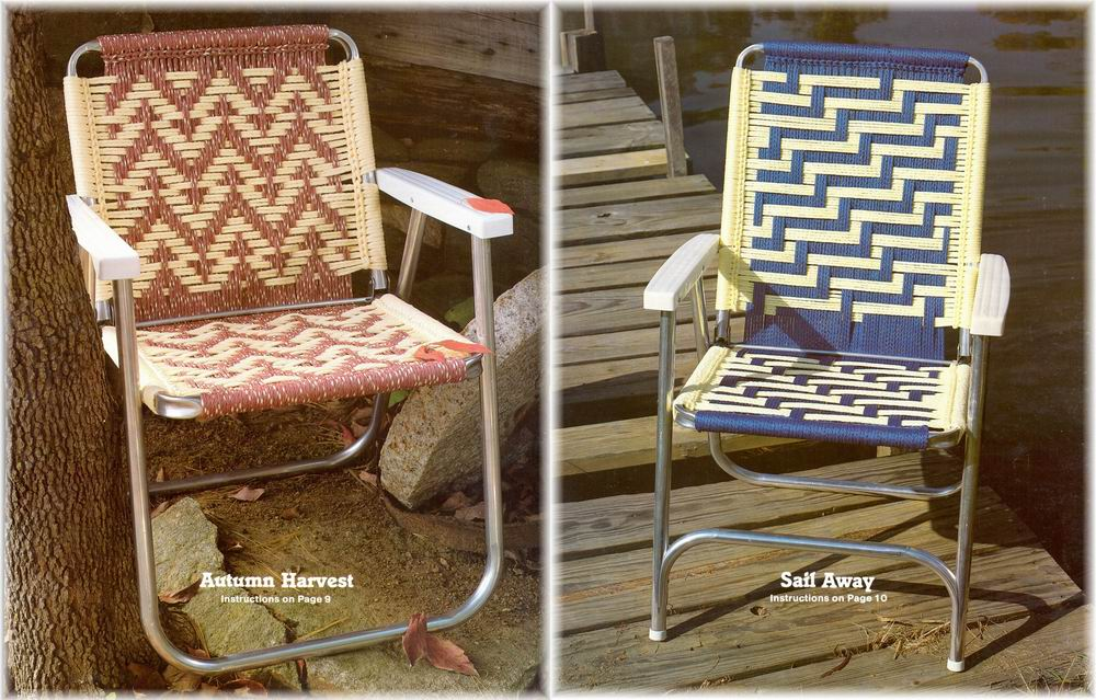 Macrame Cording Lawn Chairs 14 Southwest Designs Pattern