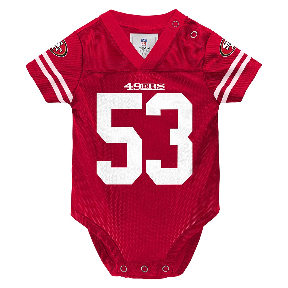 NaVorro Bowman NFL San Francisco 49ers Red Home Infant Newborn Jersey  (3M-9M) c3ce05d30414