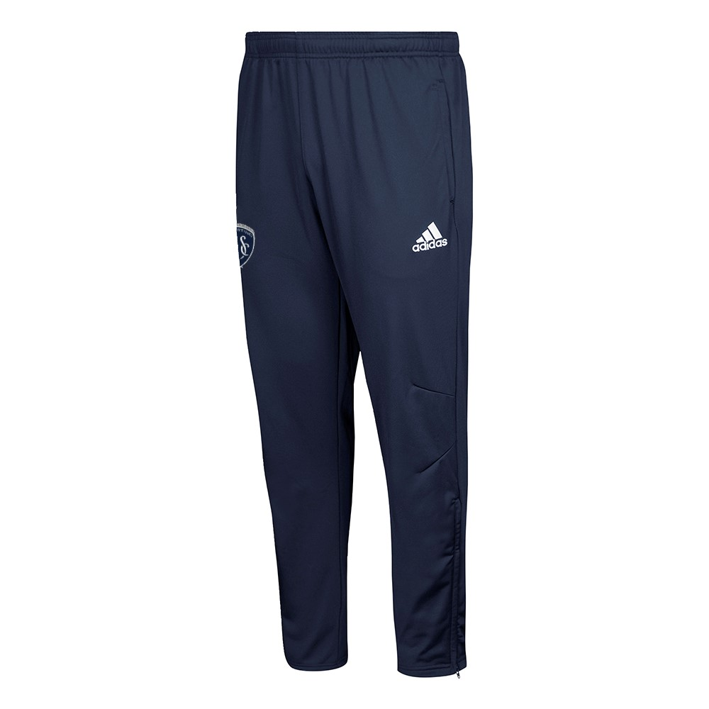 Details about Sporting Kansas City MLS Adidas Men's Navy Blue 2017 Sideline Climacool Pants