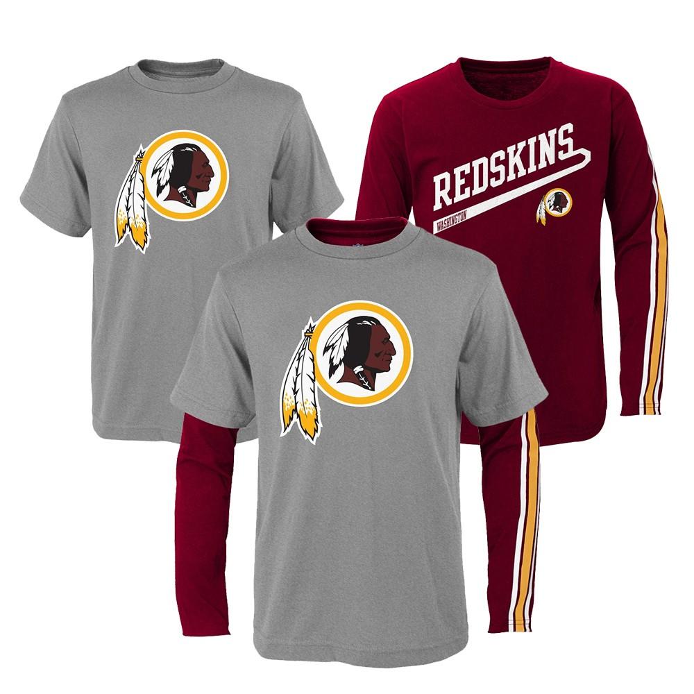 Washington Redskins NFL Toddler Grey Maroon
