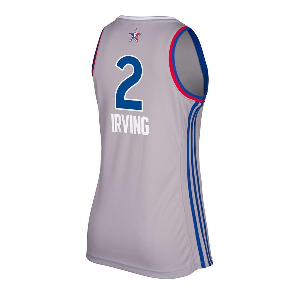 best service 523de e1d7c Details about Kyrie Irving Cleveland Cavaliers NBA Women's 2017 All Star  East Replica Jersey