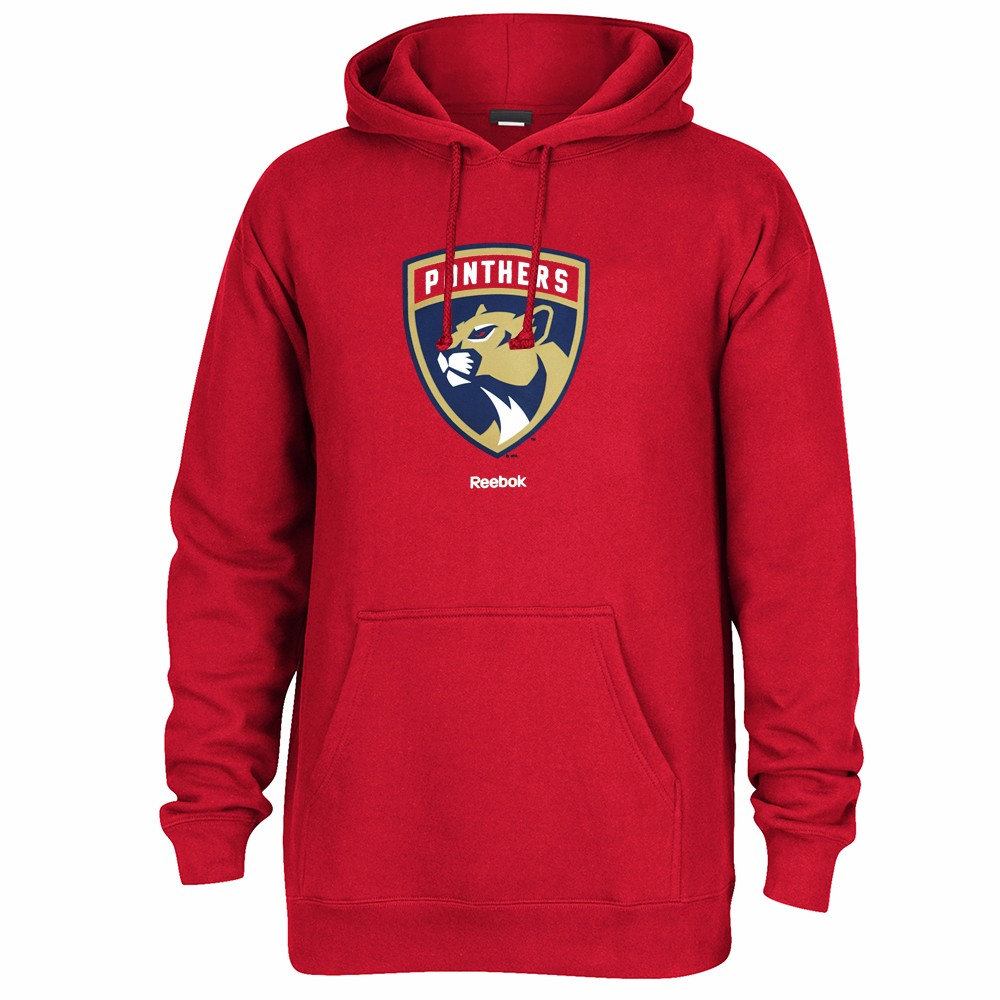 Details about Florida Panthers NHL Reebok Red Team Logo