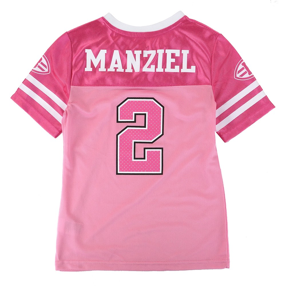 d46c0573b76 Details about Johnny Manziel NFL Cleveland Browns Mid Tier Fashion Jersey  Girls Youth (7-16)