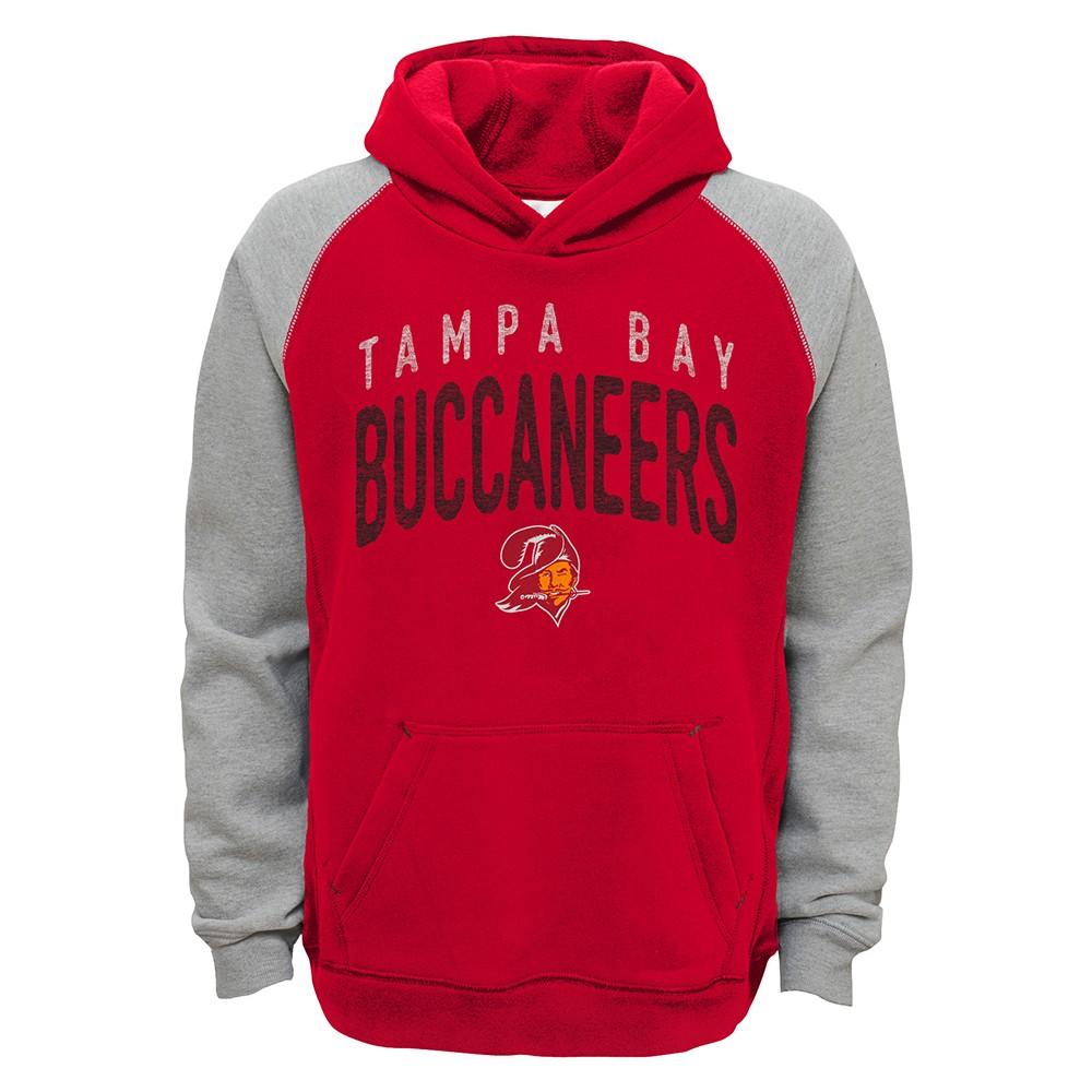 Discount Tampa Bay Buccaneers NFL Foundation Retro Logo Raglan Pullover  hot sale PNkMtf9n