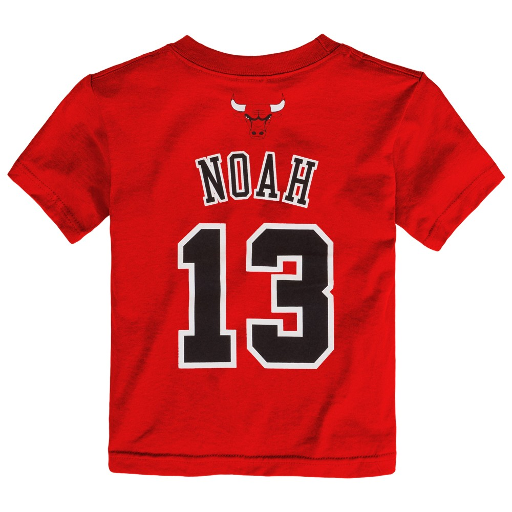 f87783d7bce Outerstuff Joakim Noah NBA Chicago Bulls Jersey Name & Number T-Shirt Infant -Toddler