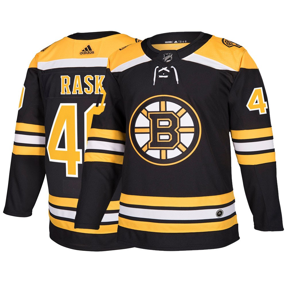 online store 53082 748b3 Details about Tuukka Rask Boston Bruins NHL Adidas Men's Black Authentic  On-Ice Pro Jersey