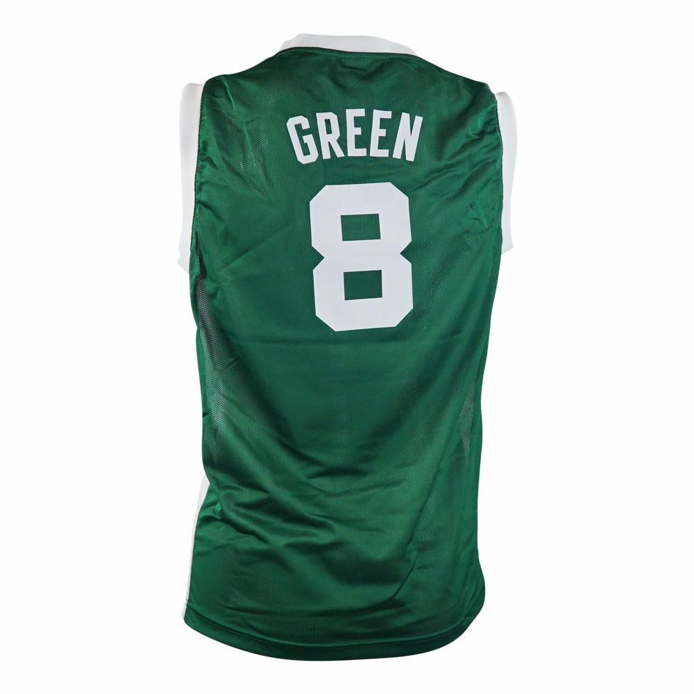 sale retailer 43526 6ccbd Details about Jeff Green Boston Celtics NBA Adidas Toddler Green Official  Road Replica Jersey