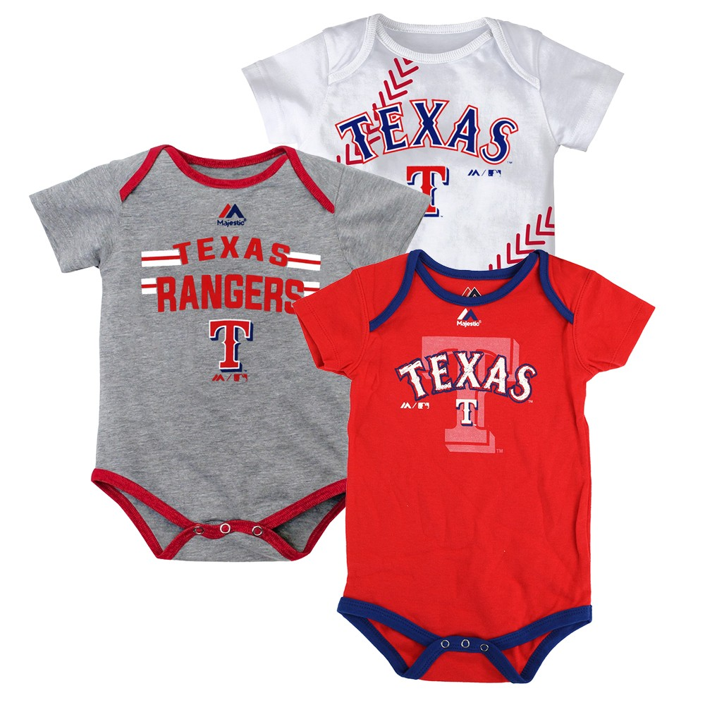a62ef0a2f Details about Texas Rangers MLB Majestic Infant
