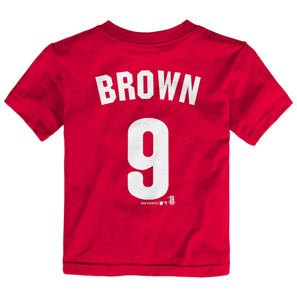 dcdb24ec2 Domonic Brown MLB Philadelphia Phillies Jersey T-shirt Infant Toddler  (12m-4t) 3t. About this product. Picture 1 of 3  Picture 2 of 3 ...