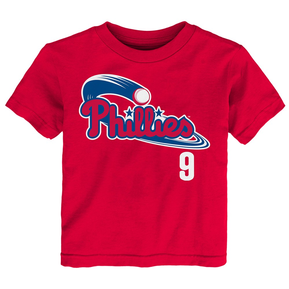699a8c2c1 Domonic Brown MLB Philadelphia Phillies Jersey T-shirt Infant Toddler  (12m-4t) 3t. About this product. Picture 1 of 3  Picture 2 of 3  Picture 3  of 3