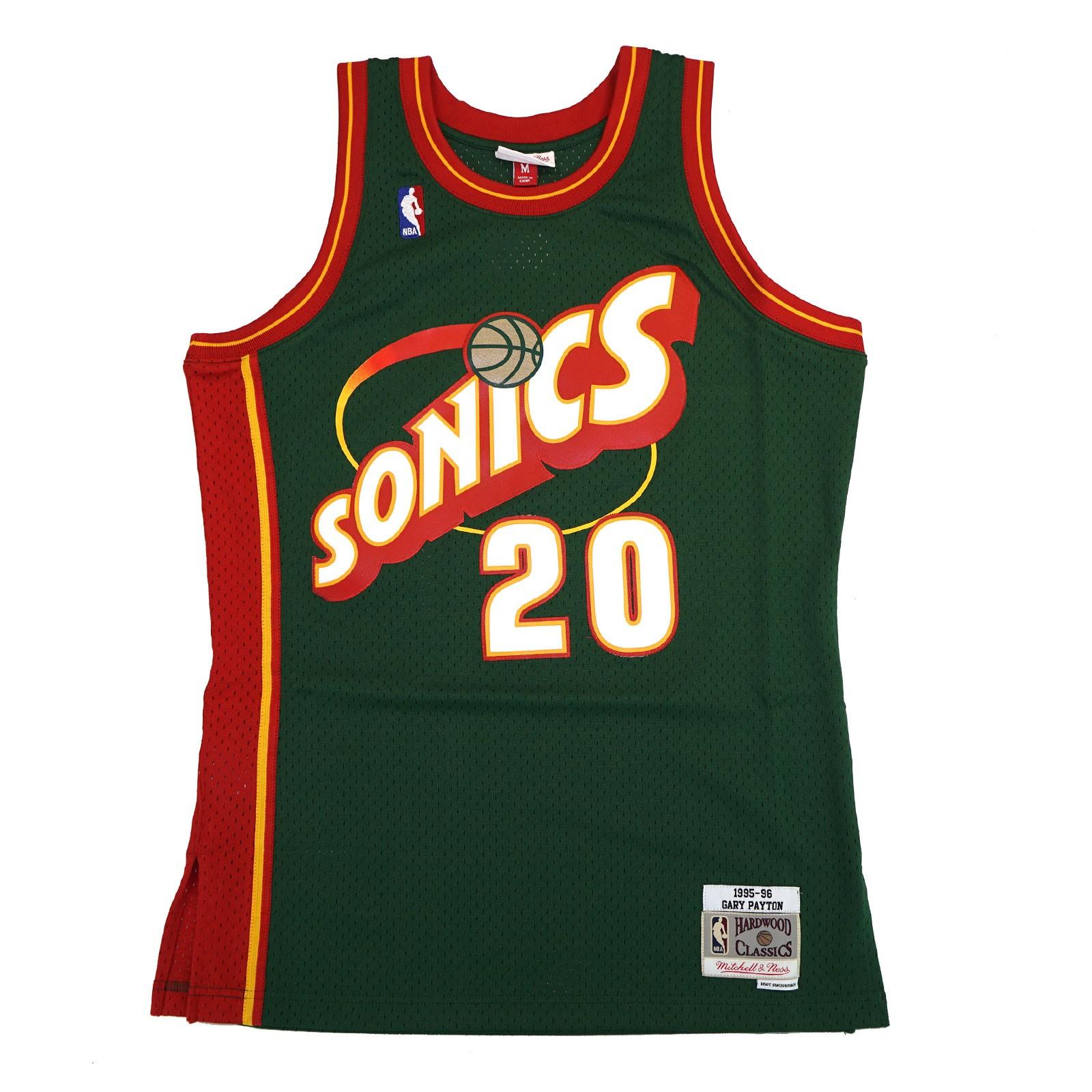 a68a799f9 ... wholesale details about gary payton 1995 96 seattle supersonics  mitchell ness swingman jersey mens 03941 ac234