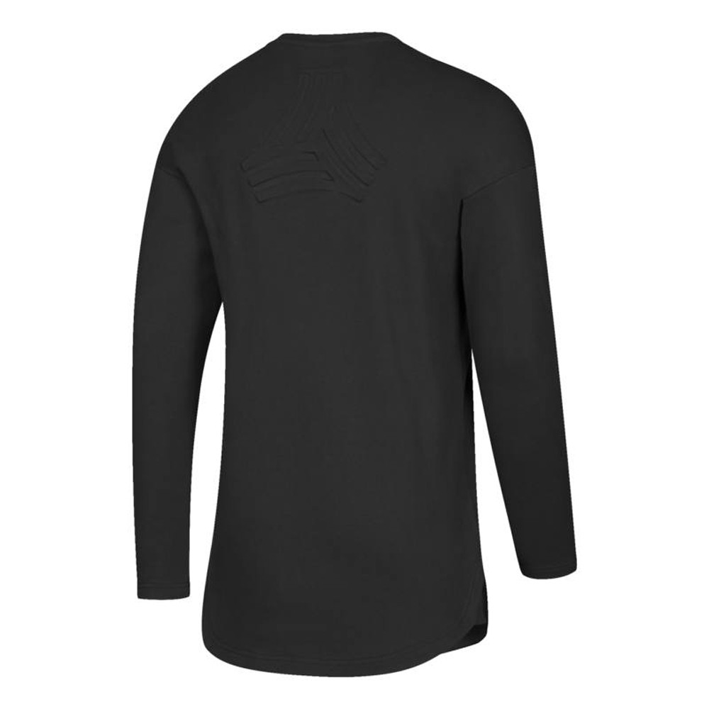MLS-Adidas-Men-039-s-Authentic-Tango-Sweat-Long-Sleeve-Training-Jersey-Collection thumbnail 3