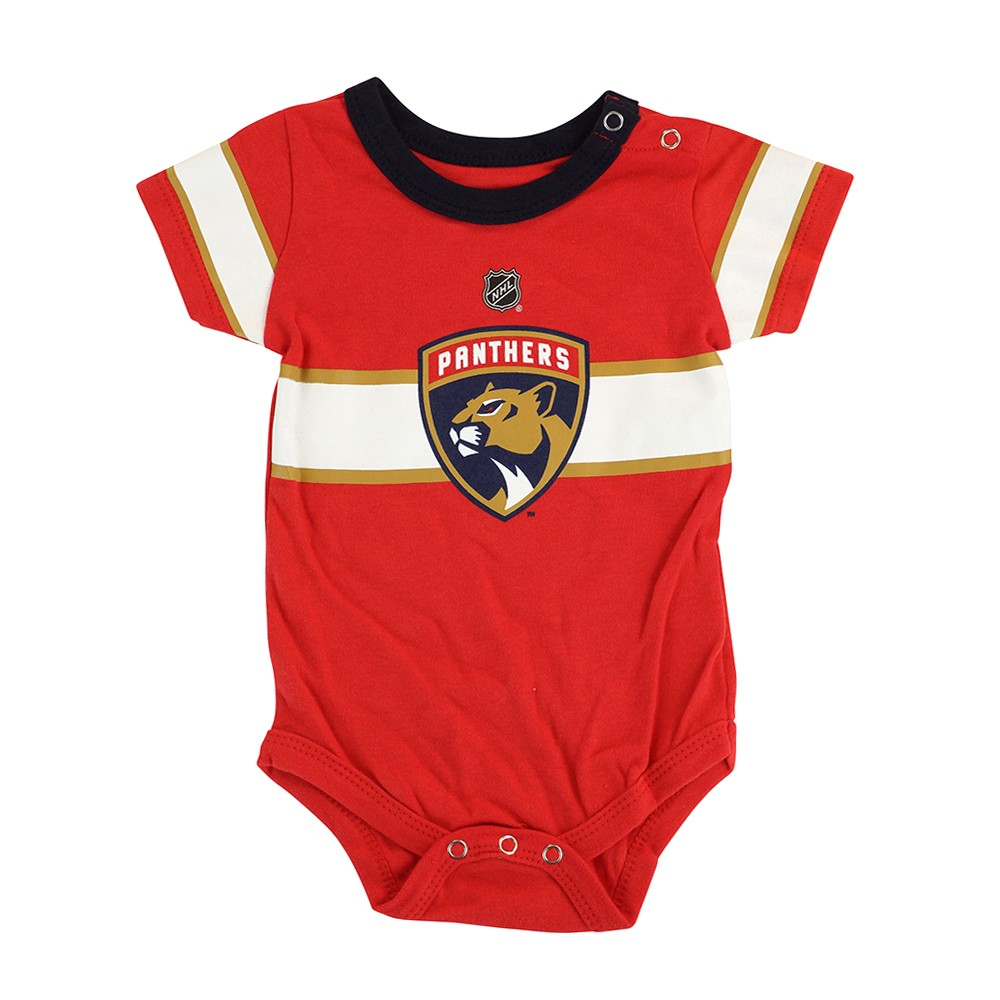 Florida Panthers NHL Outerstuff Newborn Red Hockey Jersey Creeper  331e9682bbd