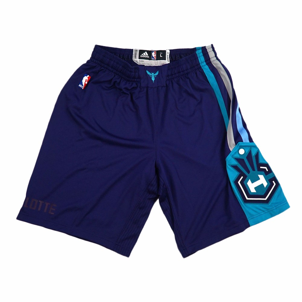 bc72bd597e1 NBA adidas Authentic On-court Team Issued Pro Cut Game Shorts Collection  Men s Charlotte Hornets 3 Purple XLT. About this product. Picture 1 of 6   Picture 2 ...