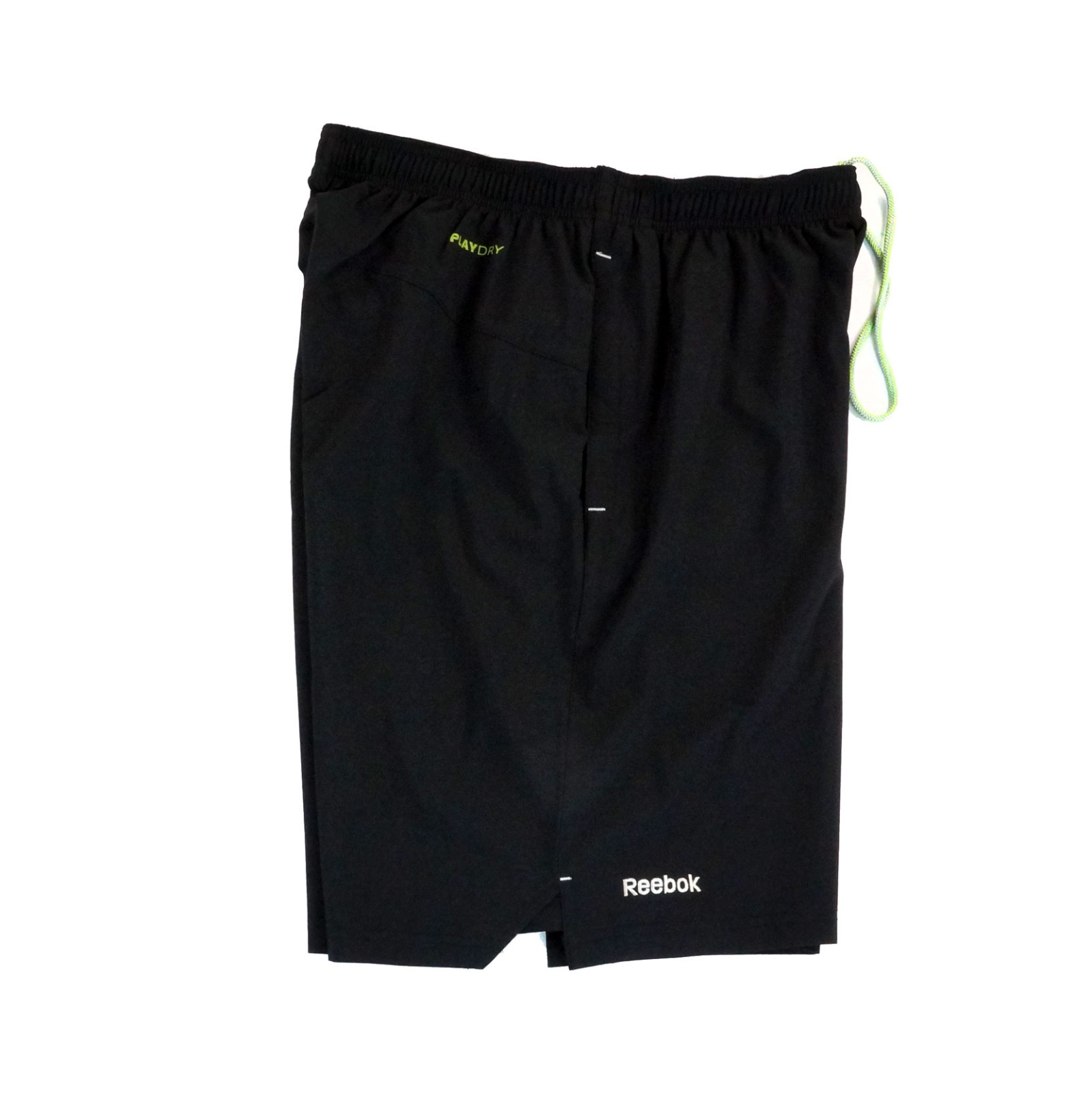NHL-Reebok-Center-Ice-TNT-PlayDry-Performance-Black-Team-Shorts-Collection-Men-039-s