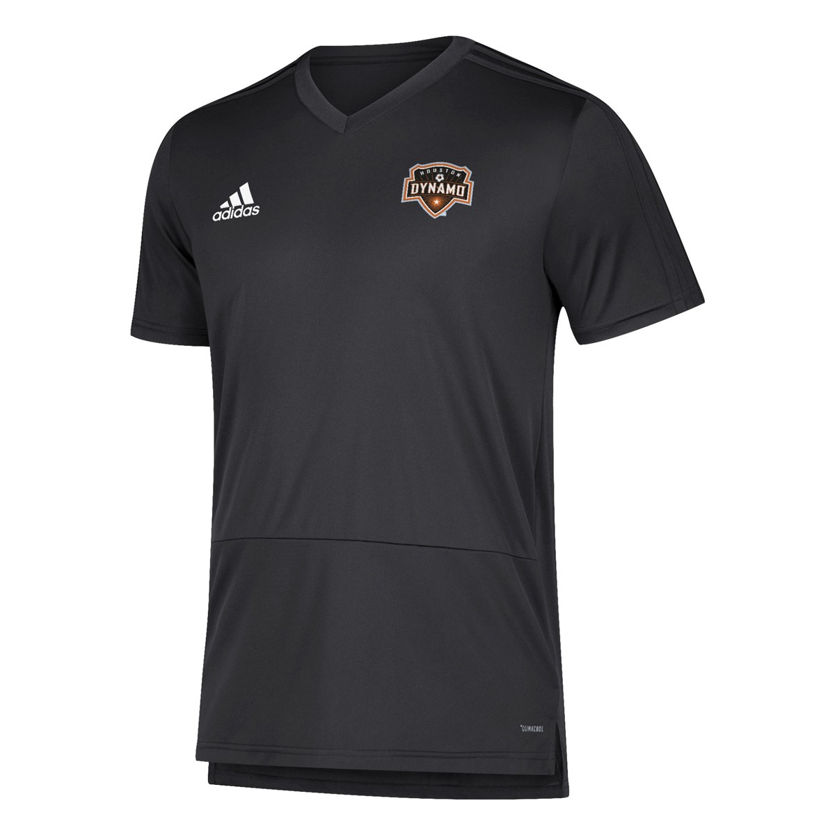 size 40 61fb2 065d4 Details about Houston Dynamo MLS Adidas Men's Black Climacool 2018 Training  Jersey
