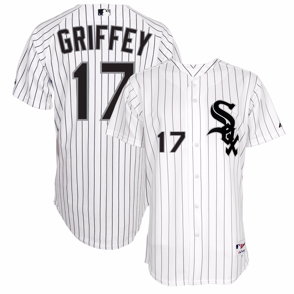new concept 72ec6 d9014 chicago white sox ken griffey 17 black authentic jersey sale