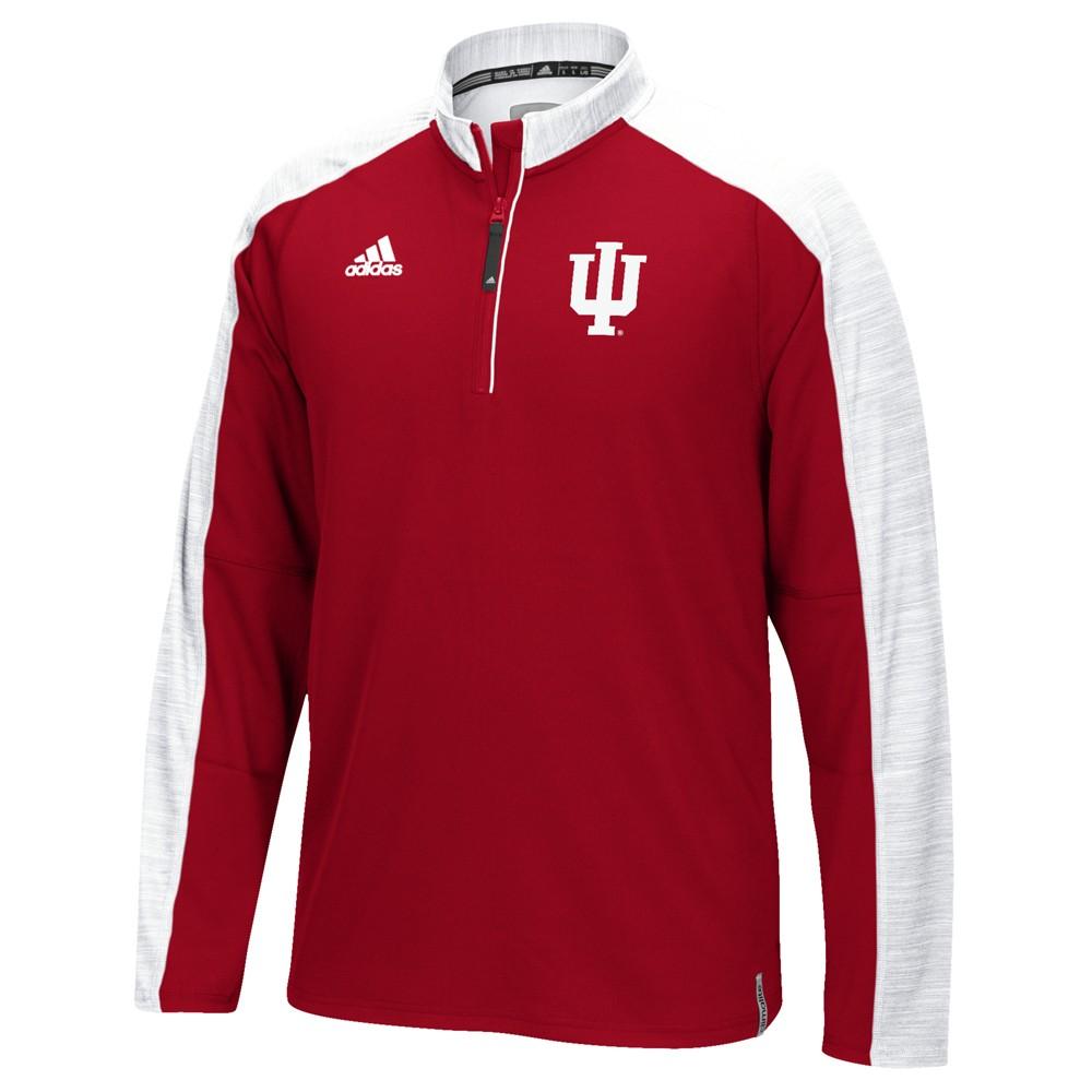 NCAA-Adidas-Team-Men-039-s-Sideline-Climalite-1-4-Zip-Hi-Visibility-Reflective-Knit thumbnail 30