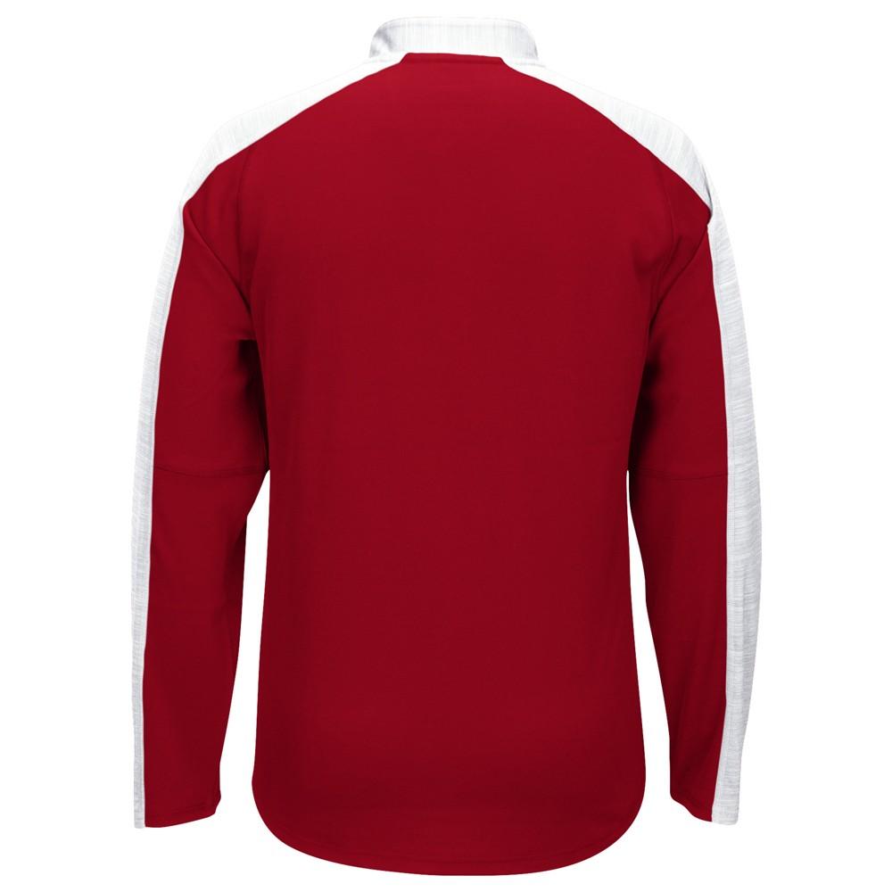 NCAA-Adidas-Team-Men-039-s-Sideline-Climalite-1-4-Zip-Hi-Visibility-Reflective-Knit thumbnail 31