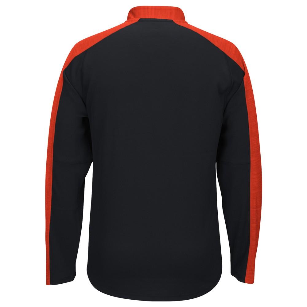 NCAA-Adidas-Team-Men-039-s-Sideline-Climalite-1-4-Zip-Hi-Visibility-Reflective-Knit thumbnail 58