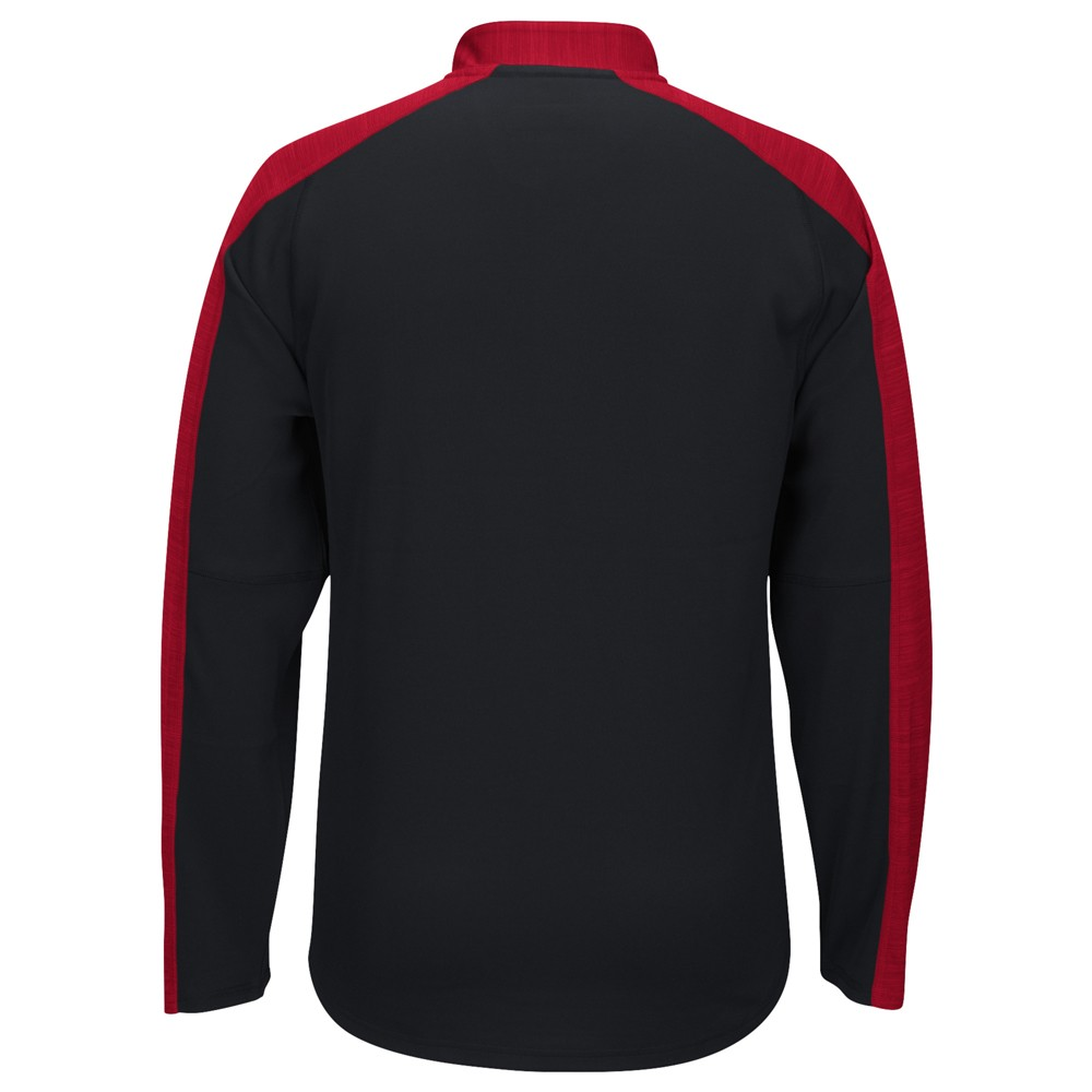 NCAA-Adidas-Team-Men-039-s-Sideline-Climalite-1-4-Zip-Hi-Visibility-Reflective-Knit thumbnail 88