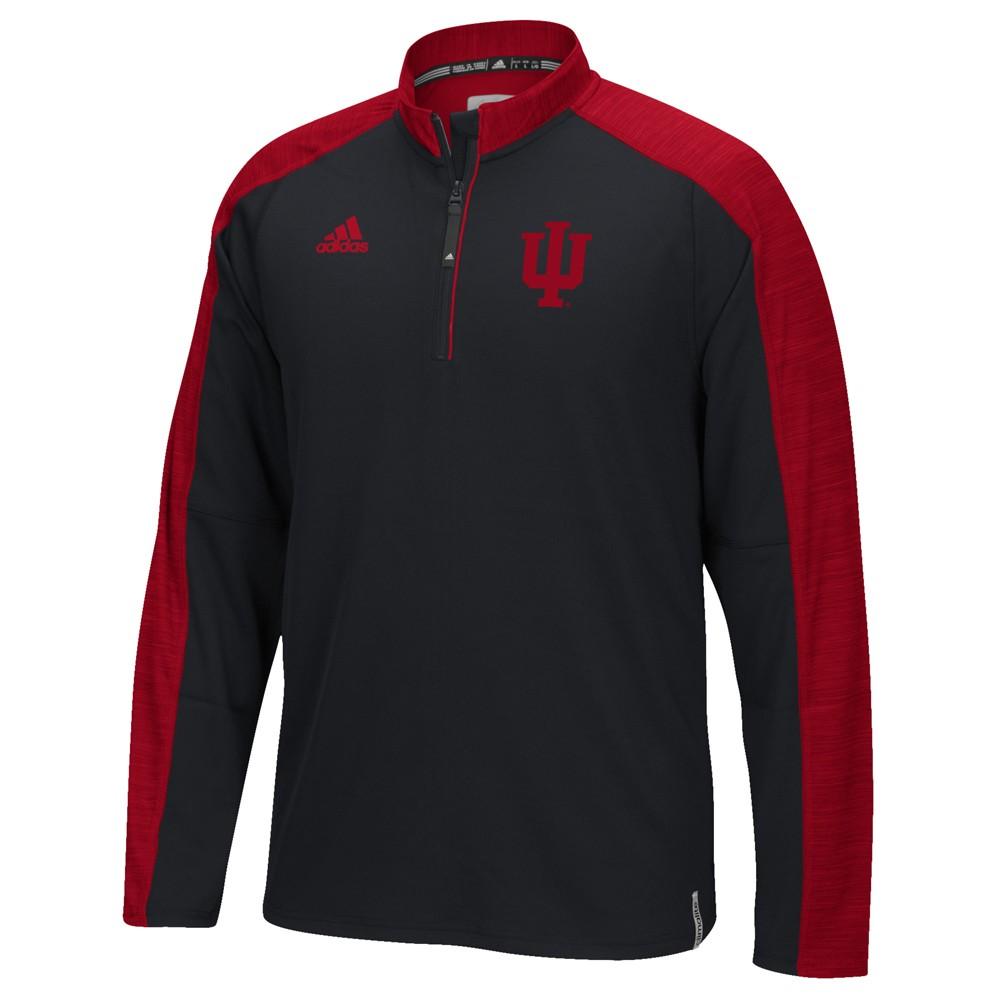 NCAA-Adidas-Team-Men-039-s-Sideline-Climalite-1-4-Zip-Hi-Visibility-Reflective-Knit thumbnail 27