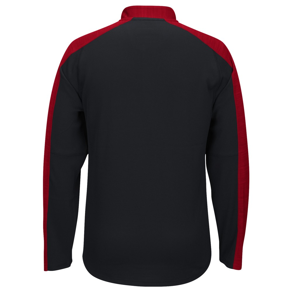 NCAA-Adidas-Team-Men-039-s-Sideline-Climalite-1-4-Zip-Hi-Visibility-Reflective-Knit thumbnail 28