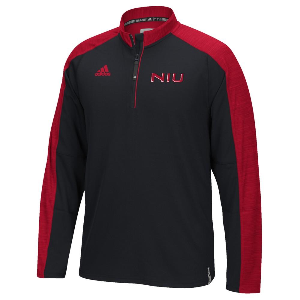 NCAA-Adidas-Team-Men-039-s-Sideline-Climalite-1-4-Zip-Hi-Visibility-Reflective-Knit thumbnail 96